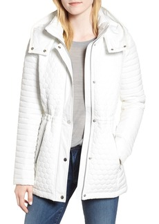 Andrew Marc Honeycomb Quilted Jacket