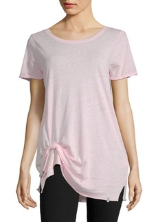Andrew Marc Knot Short-Sleeve Tee
