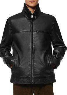 Andrew Marc Lethem Leather Jacket