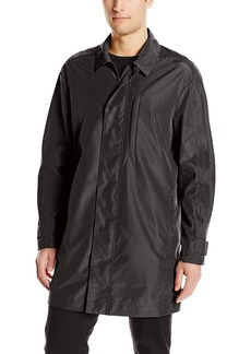 Andrew Marc Men's Alder-34 Tech Oxford Car Coat