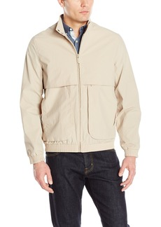 "Andrew Marc Men's Caton-27.25"" Crinkle Shell Bomber Jacket"