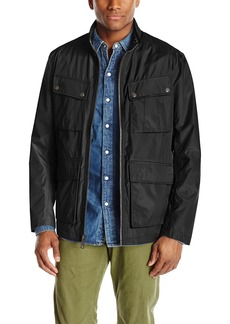 Andrew Marc Men's City Rain Tech Four-Pocket Jacket
