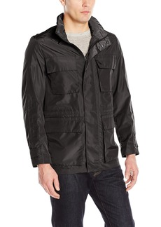 "Andrew Marc Men's Harbor-31"" Tech Oxford Field Jacket"