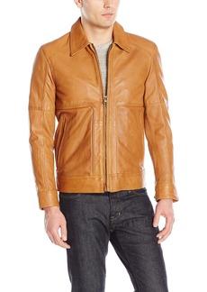 "Andrew Marc Men's Herrod-25.5"" Sheep Shirt Collar Jacket"