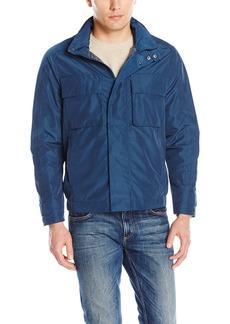 """Andrew Marc Men's Hewlett-27.25"""" Tech Oxford Trucker Jacket"""