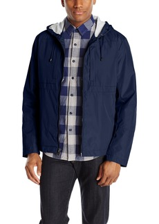 Andrew Marc Men's Hooded City Rain Tech Jacket