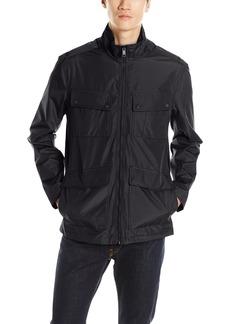 Andrew Marc Men's Robert City Rain Jacket