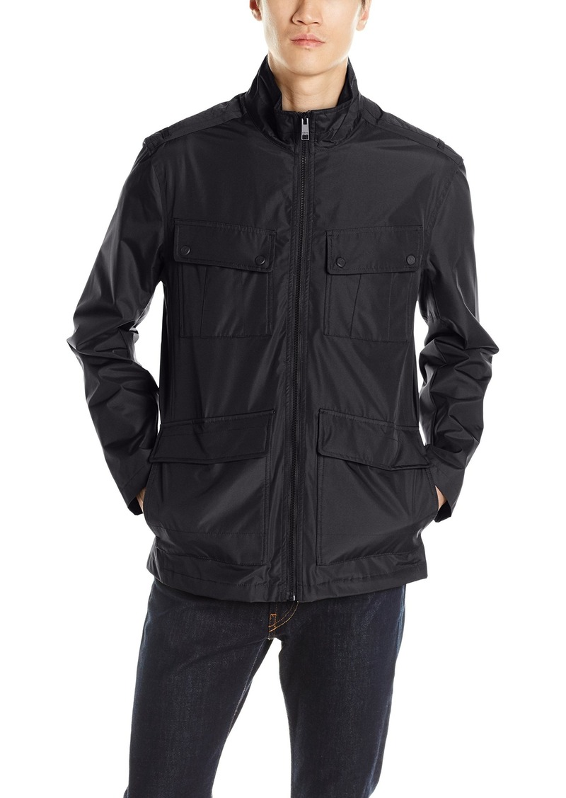 Andrew Marc Men's Robert City Rain Jacket