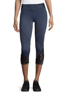 MARC NEW YORK by ANDREW MARC Performance Mesh Crop Leggings