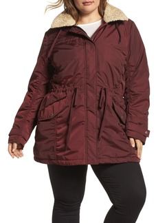 Andrew Marc Nandie Hooded Parka (Plus Size)