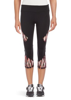 MARC NEW YORK by ANDREW MARC Performance Paneled Cropped Leggings