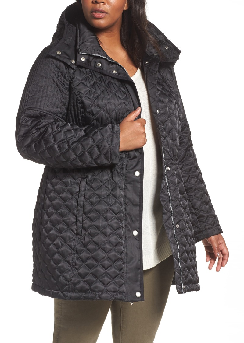 880bfbd0bda72 Andrew Marc Andrew Marc Quilted Down Jacket (Plus Size)