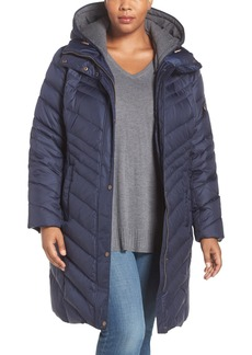 Andrew Marc 'Rayna' Water Resistant Quilted Jacket (Plus Size)