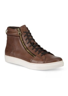 Andrew Marc Remsen High-Top Sneakers
