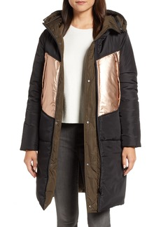 Andrew Marc Reversible Down Pillow Parka