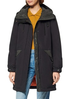 Andrew Marc Riverton Reflective Down & Feather Utility Parka