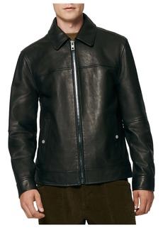 Andrew Marc Rockaway Leather Jacket