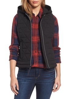 Andrew Marc Sage Hooded Quilted Vest