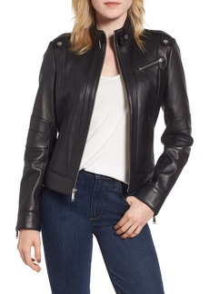 c7863ddd4d61e Andrew Marc Andrew Marc Fabian Leather Moto Jacket (Plus Size)
