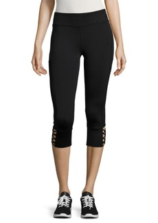 Andrew Marc Solid Cropped Leggings