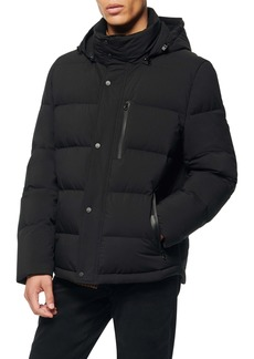Andrew Marc Tambos Quilted Down Coat