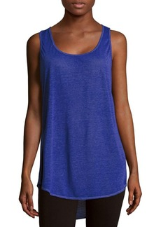 MARC NEW YORK by ANDREW MARC Performance Textured Asymmetric Tee