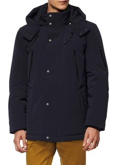 Andrew Marc Torbeck Water Resistant Hooded Down Jacket