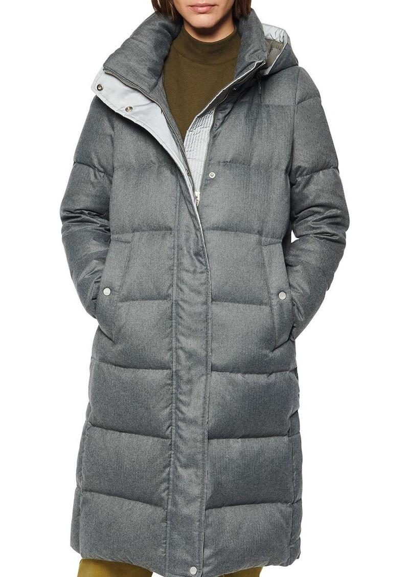 Andrew Marc Waldwick Brushed Puffer Coat