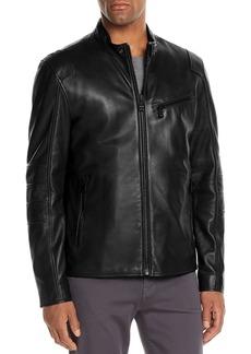 Andrew Marc Weston Leather Moto Jacket