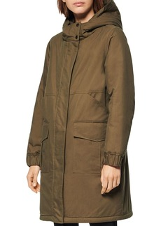 Andrew Marc Wharton Reversible Parka & Faux Fur Coat