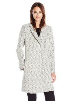 Andrew Marc Women's Boucle Wool-Blend Coat