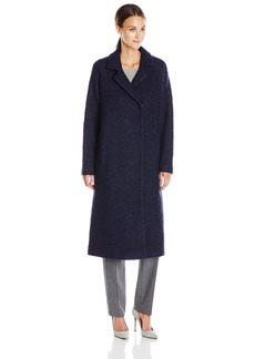 Andrew Marc Women's Long Wool-Blend Coat