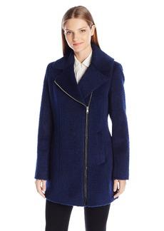 Andrew Marc Women's Shannon Asymmetric Wool Coat