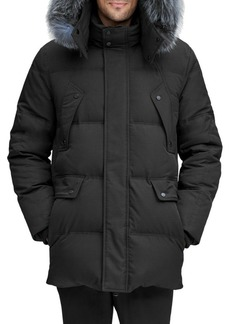 Andrew Marc Belmont Fox-Fur Down Parka