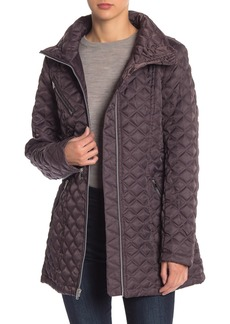 Andrew Marc Brighton Quilted Packable Hood Coat
