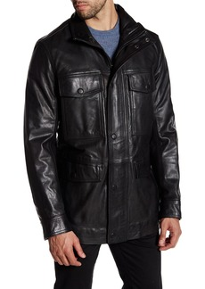 Andrew Marc Brimfield Leather Jacket