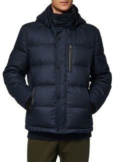 Andrew Marc Drummond Hooded Puffer