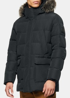 Andrew Marc Fullarton Faux Fur Trim Jacket