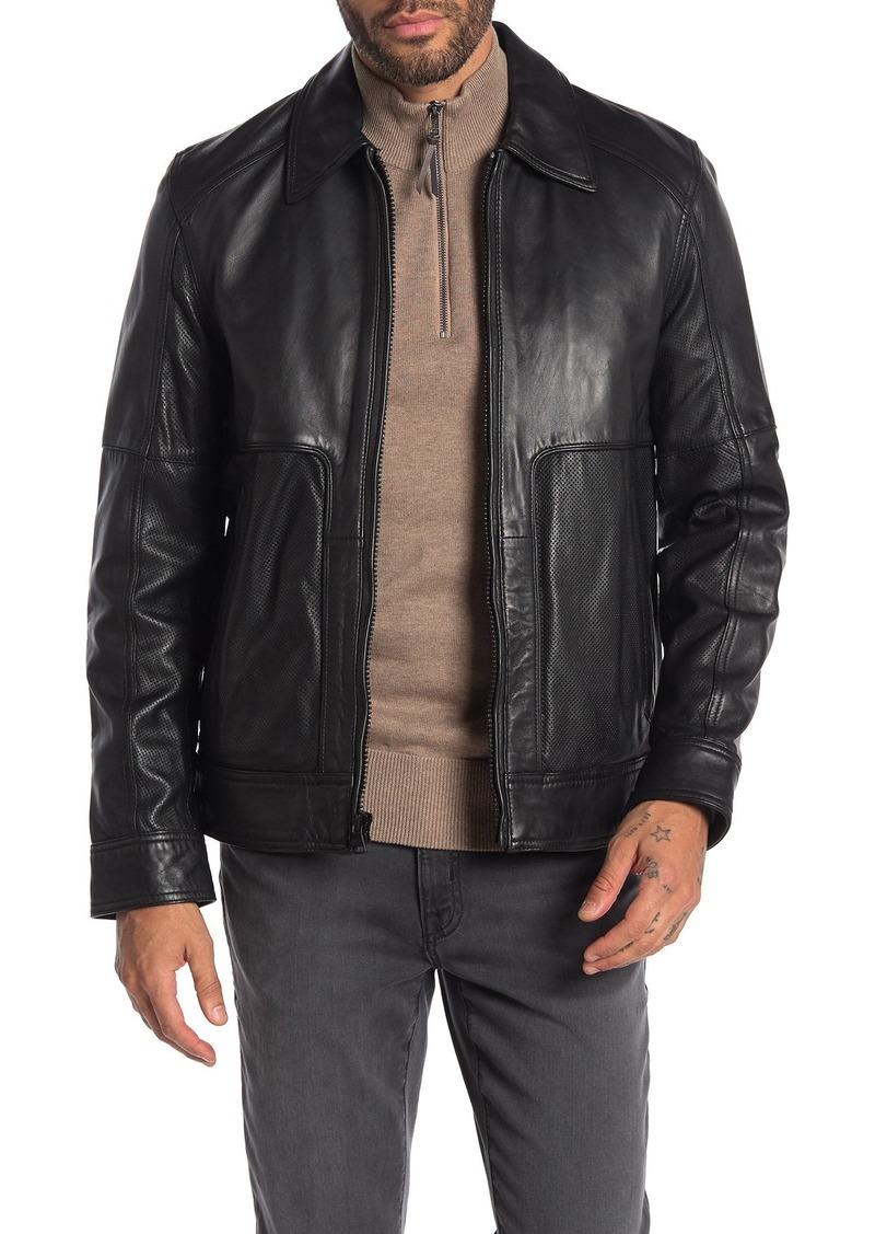 Andrew Marc Herrod Leather Jacket