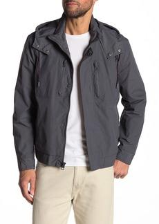 Andrew Marc Hooded Drawstring Jacket
