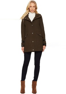 "Ally 30"" Wool Plush Coat"