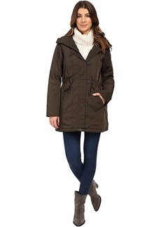 "Marc New York by Andrew Marc Chrissy 32"" Luxe Rain Coat"