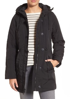 Marc New York by Andrew Marc 'Chrissy' Rain Coat with Removable Hood