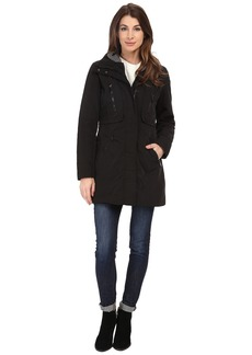 "Marc New York by Andrew Marc Dani 31"" Luxe Rain with Hood"