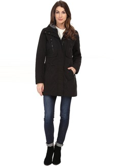 """Marc New York by Andrew Marc Dani 31"""" Luxe Rain with Hood"""