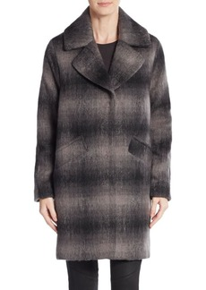 MARC NEW YORK by ANDREW MARC Emery Plaid Coat