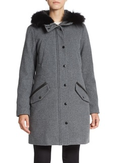 MARC NEW YORK by ANDREW MARC Fur-Trimmed Hooded Parka