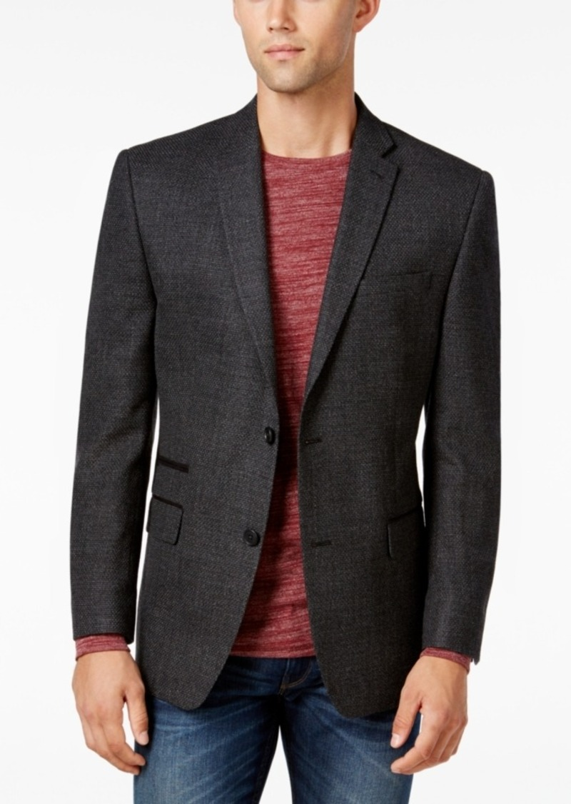 Marc New York by Andrew Marc Men's Slim-Fit Gray Textured Sport Coat