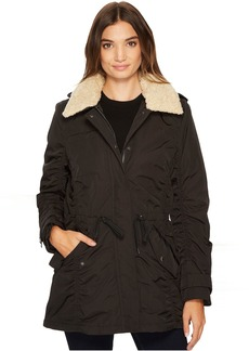 "Nandie 30"" Fine Twill Nylon Jacket"