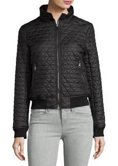 Marc New York by Andrew Marc Oakley Pyramid-Quilted Bomber Jacket